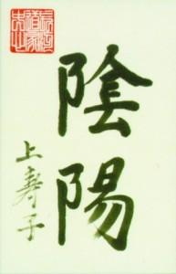 calligraphie yinyang